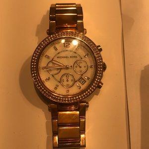 Michael Kors -Rosegold Watch